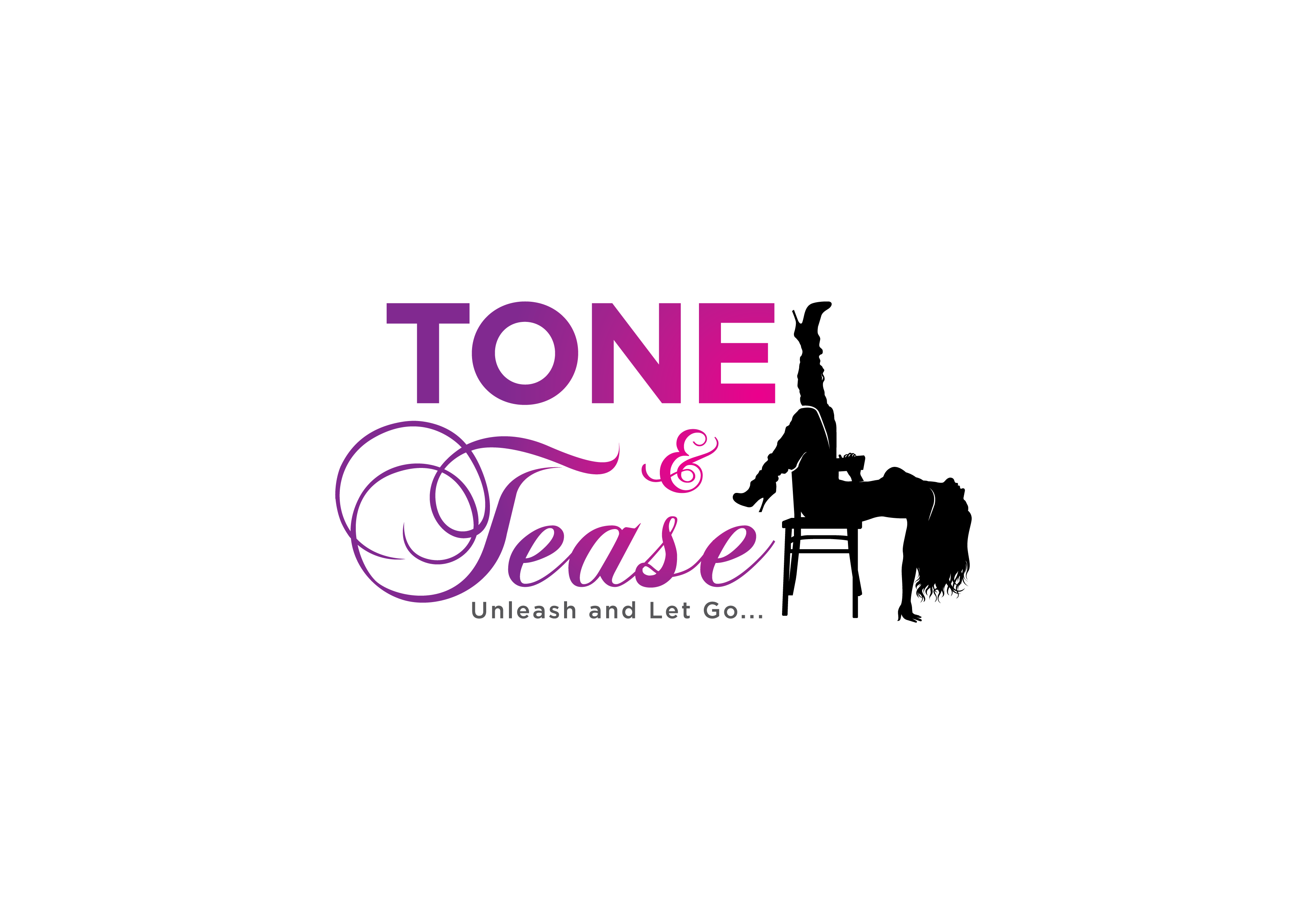 Unique - Sexy/Fun Logo for Tone and Tease