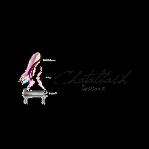 Logo for a modern piano lesson studio