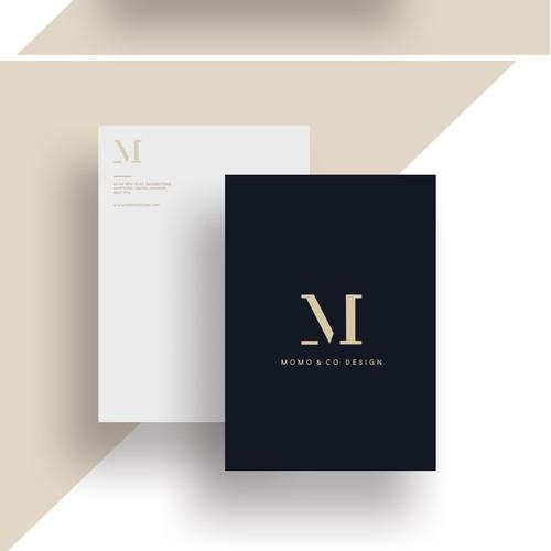 Momo & Co Design Brand Identity