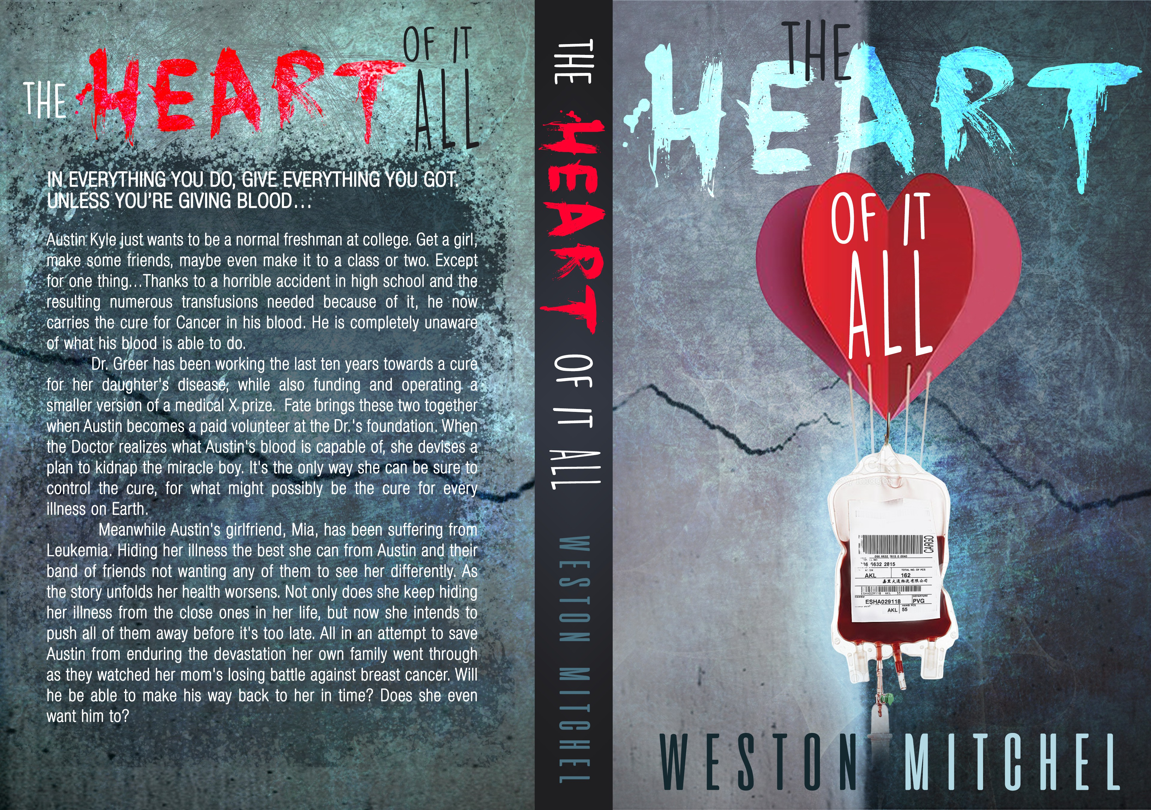 Design an original, provocative cover for The Heart of It All