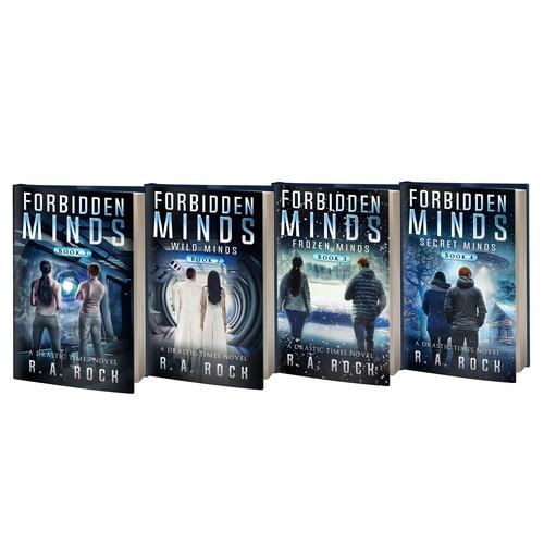 Forbidden Minds series Books 1-4
