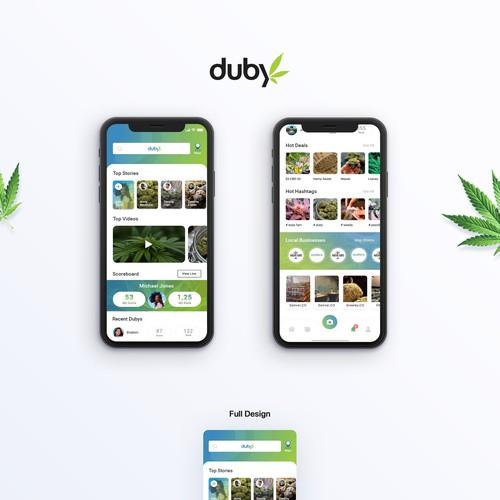 Duby: the Cannabis App that pays