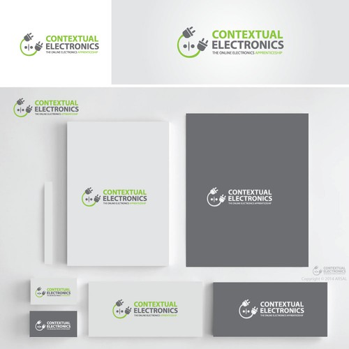 Create distinctive logo for online electronics apprenticeship program (video course)