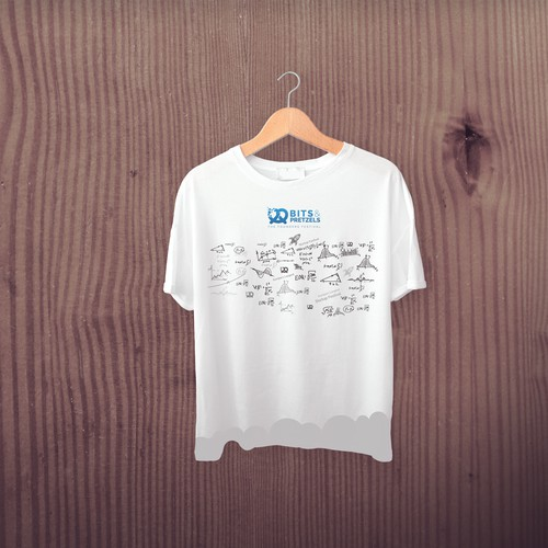 Bits Pretzals T Shirt Design