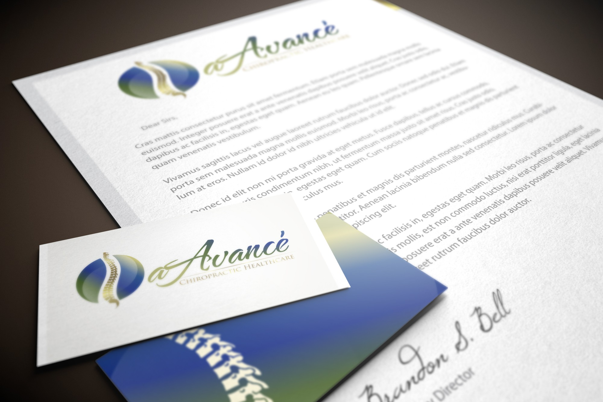 New logo wanted for aAvance' Chiropractic Healthcare
