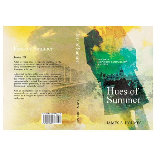 "Book cover ""Hues of Summer"""