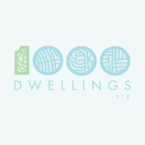 Design for a Great Cause - New Non-Profit - 1000dwellings.org