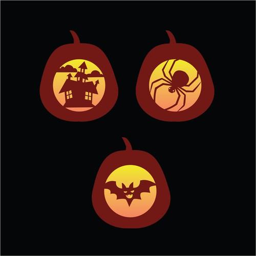 intaglio per zucche di halloween