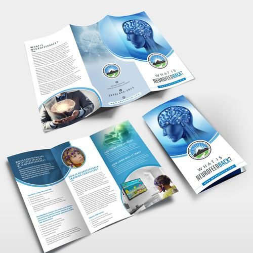 Brain Training Brochure design