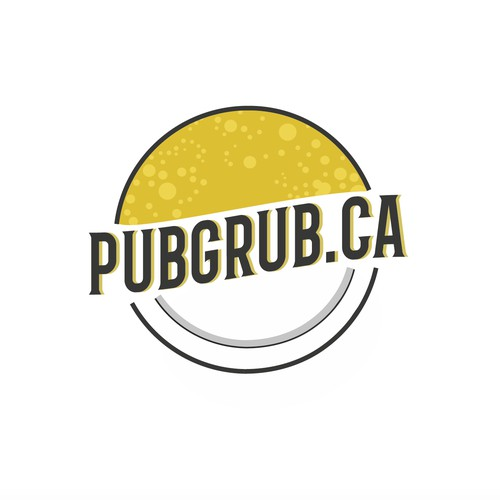 Concept logo for a Pub, Bar & Grill style food online order