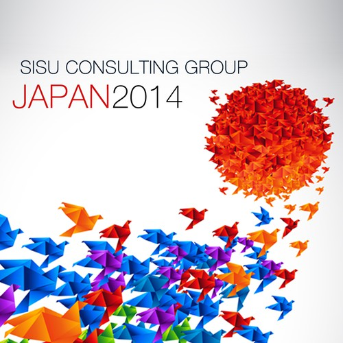 Design the cover for an Executive Japan Study Tour for a global consulting company!