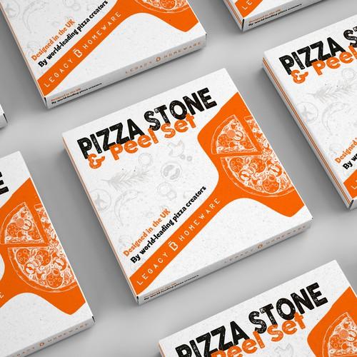Pizza Stone & peel set