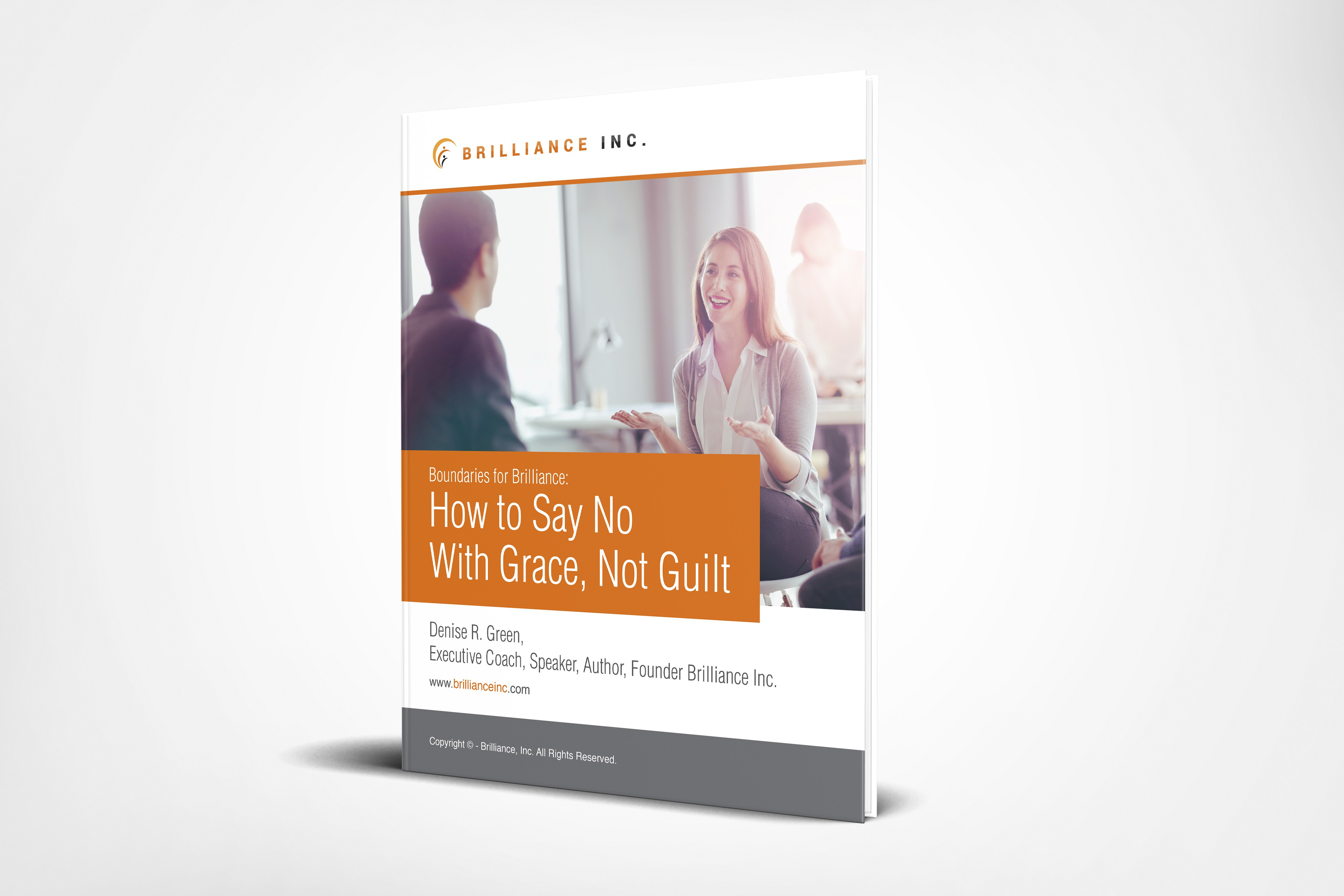Design a workbook for a corporate talk about how to say no with grace, not guilt