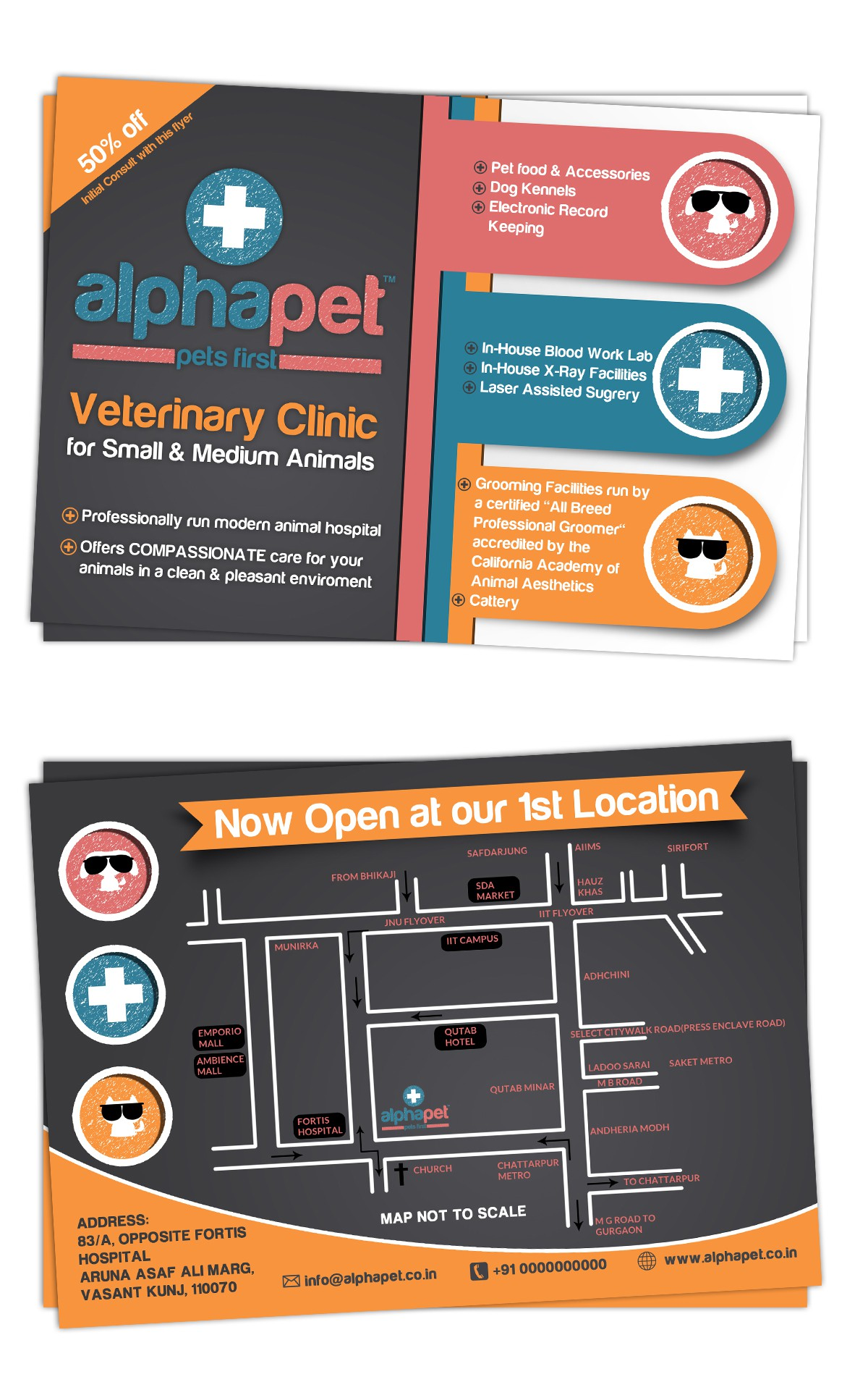 Create the next postcard or flyer for Alphapet
