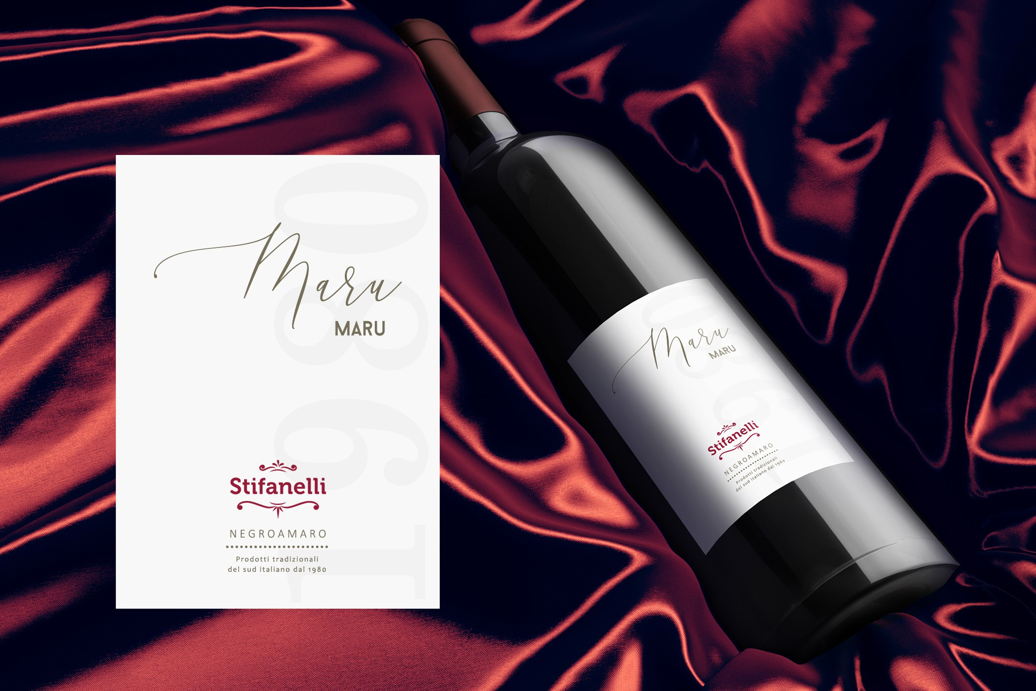 MaruMaru: Create an Apulian Wine Label for a Trusted Local Brand