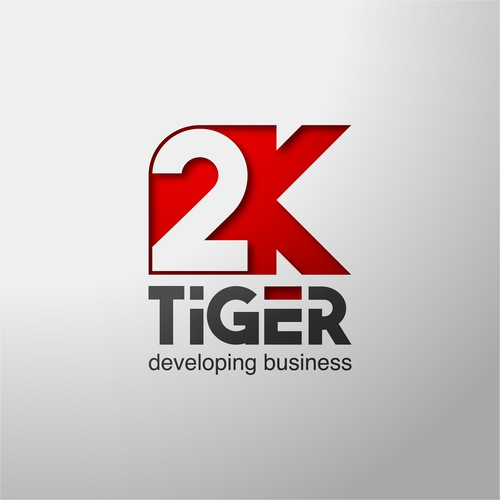 bold logo for 2k tiger