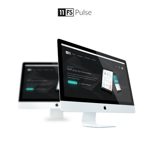 Dark UI for 11FS Pulse
