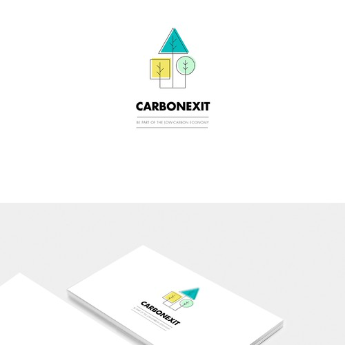 Logo and business card for Carbonexit