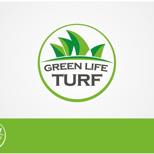 Green Life Turf needs a new logo