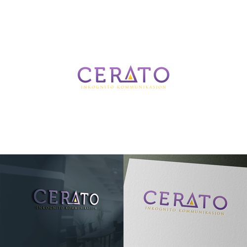 Design a modern logo for Cerato
