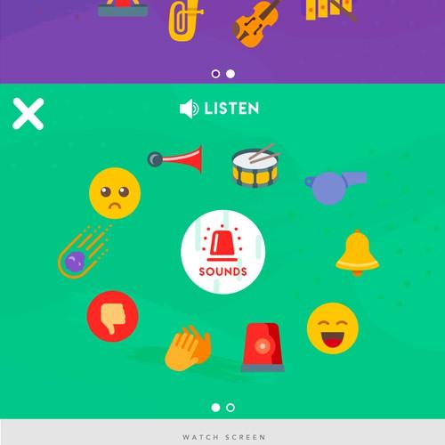 Toddler iOS App design
