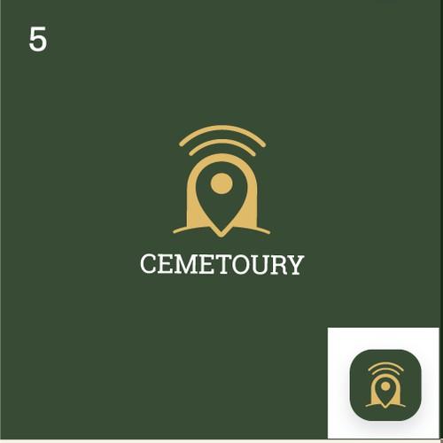 Cemetoury App logo