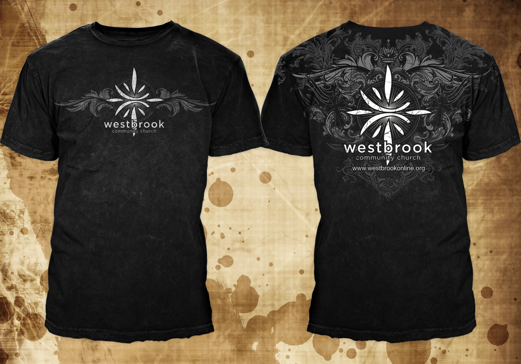 Help Westbrook Community Church with a new t-shirt design