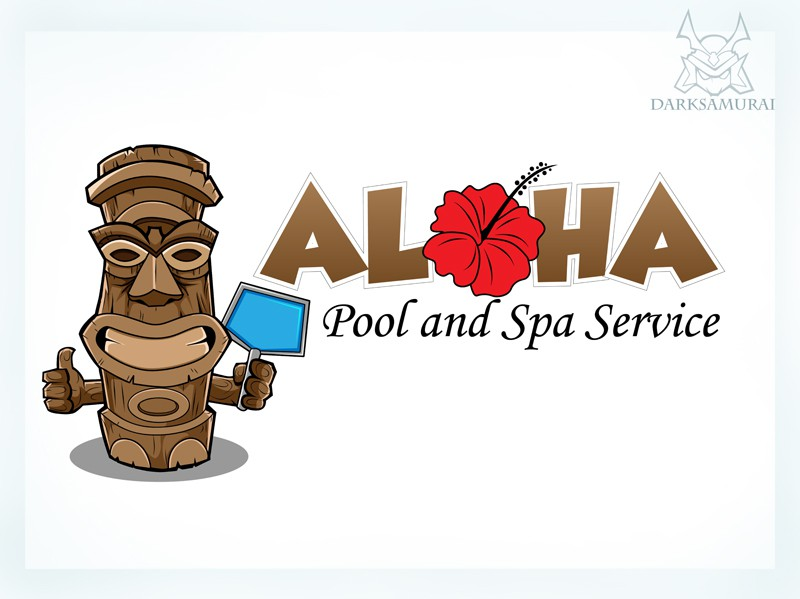 Help create a new logo for Aloha Pool and Spa Service!