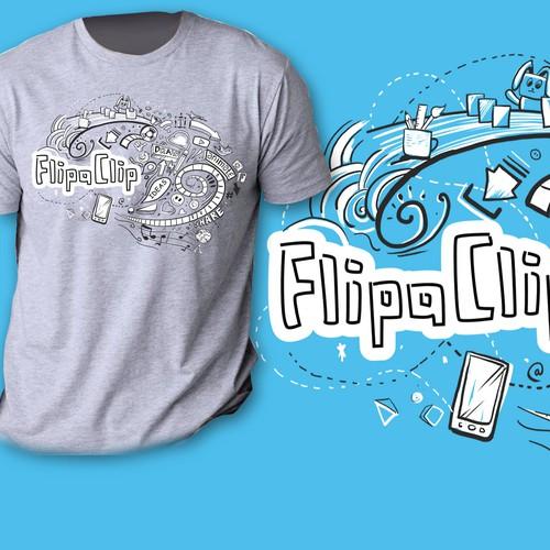 FlipaClip App TSHIRT DESIGN