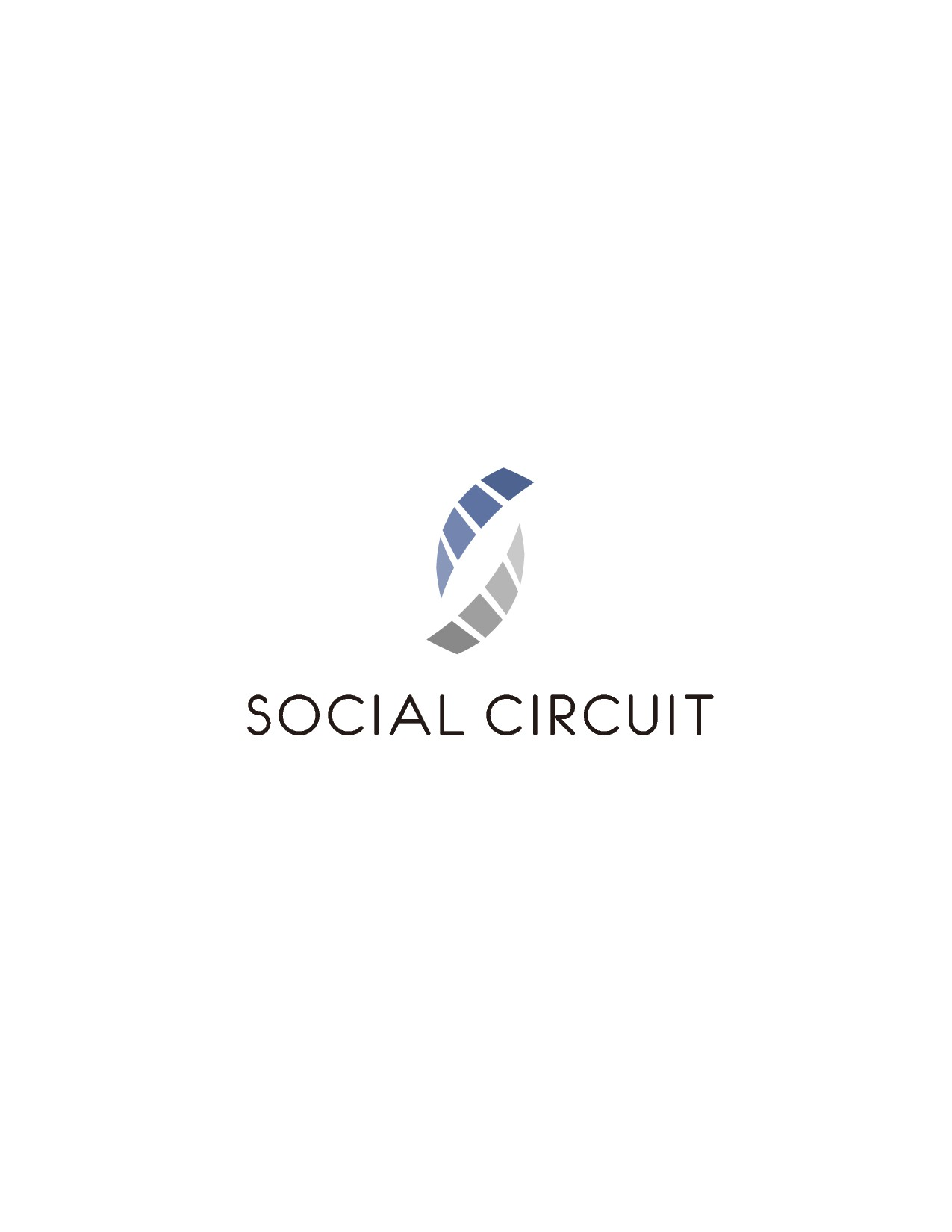 Create a classic logo with a unique twist for a Social Media Company
