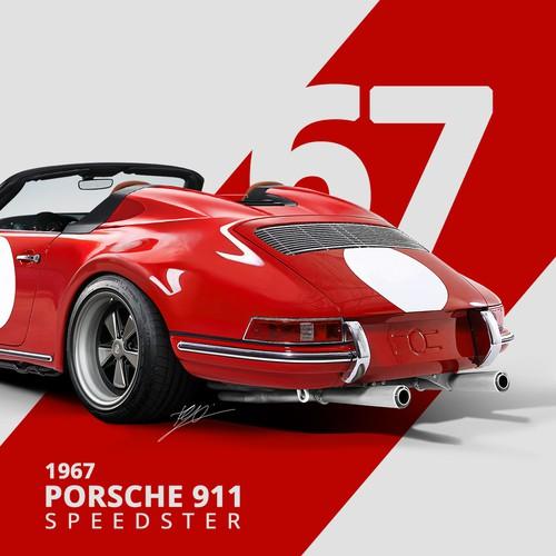 1967 Porsche 911 Speedster Concept