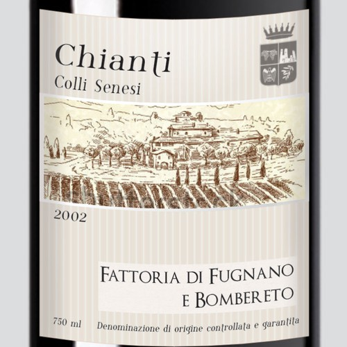 Chianti label
