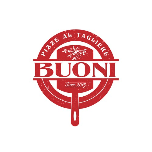 BUONI makes pizza and we need a timeless logo. No fastfood no gourmet. Only pizza
