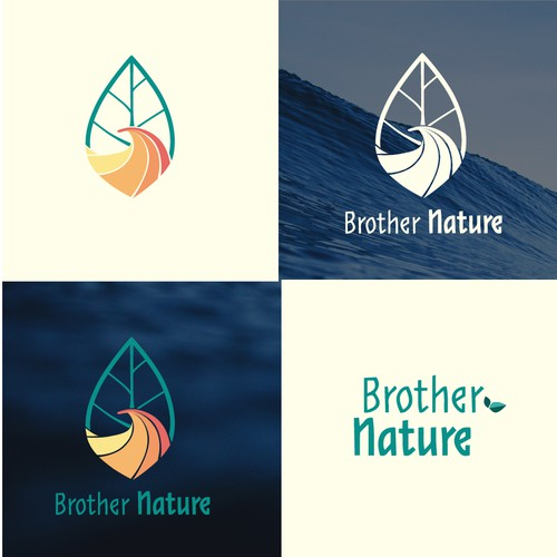 Brother Nature logo edsign