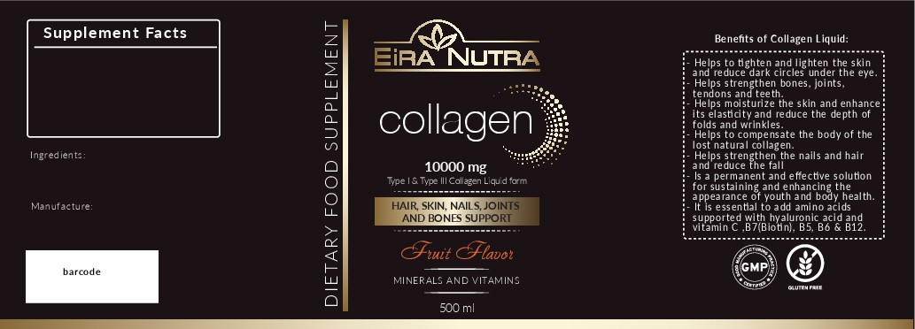 create a new design for a bottle of collagen