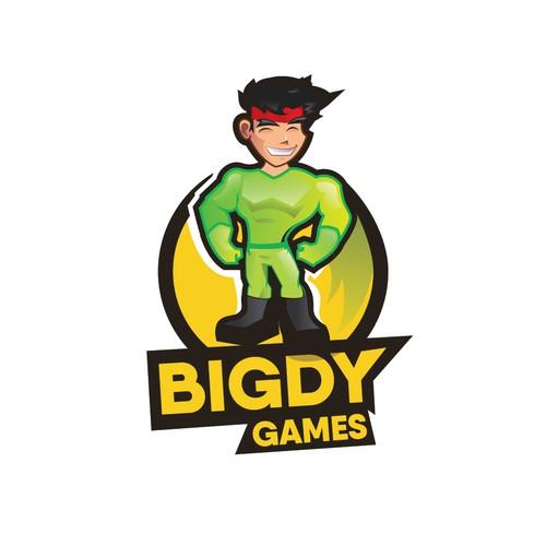 MASCOT LOGO FO BIGDY GAMES