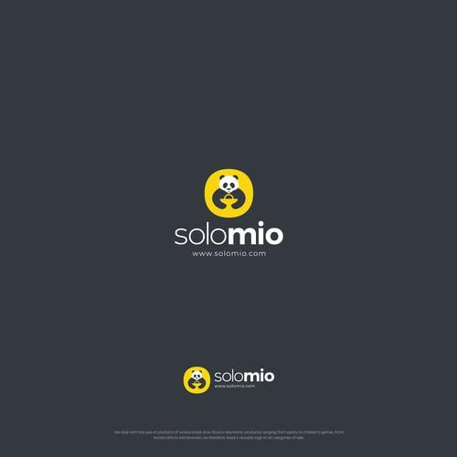 SoloMio Logo Design