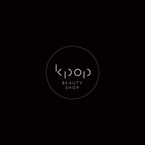 logo concept for korean beauty industry
