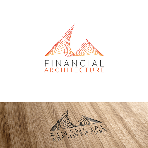 Logo for financial service