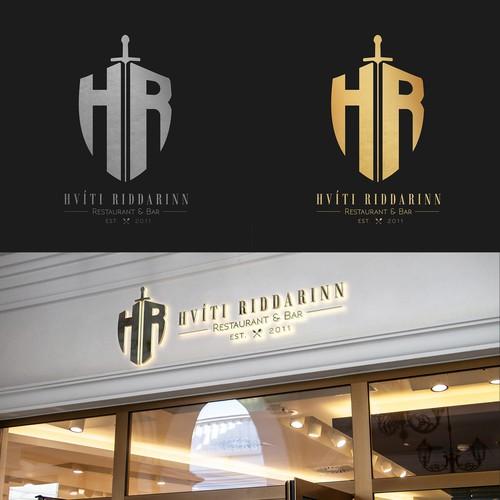 Hvíti Riddarinn Logo