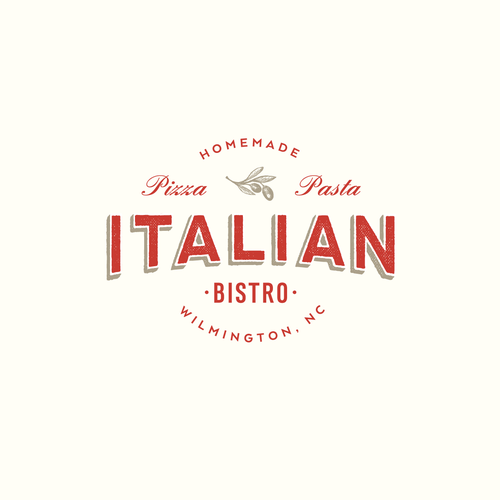 Italian restaurant changing the name and rebranding the look and feel of the logo and restaurant