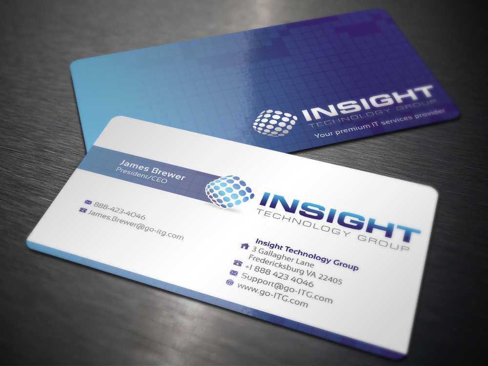 Wanted: Business Card and Stationary for Tech Company