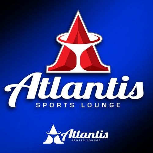 Atlantis Sports Lounge needs a new logo