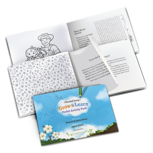 Booklet design for childrens