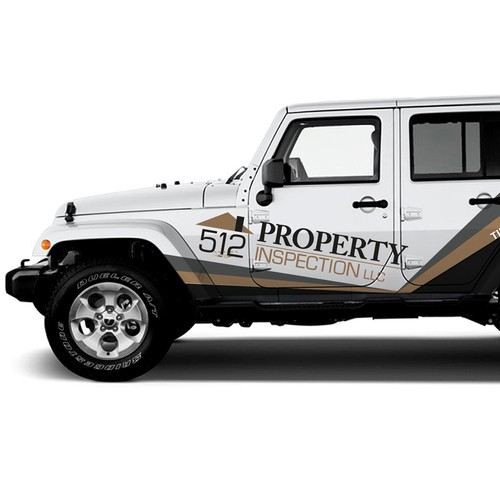 Eye-catching Jeep Vehicle Wrap