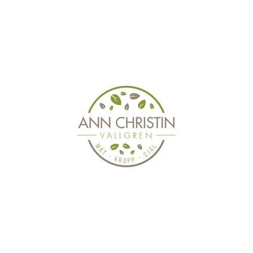 Clean logo For Ann Christin Vallgren