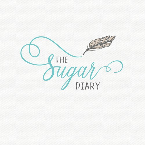 A stylish and soulful logo for the Sugar Diary