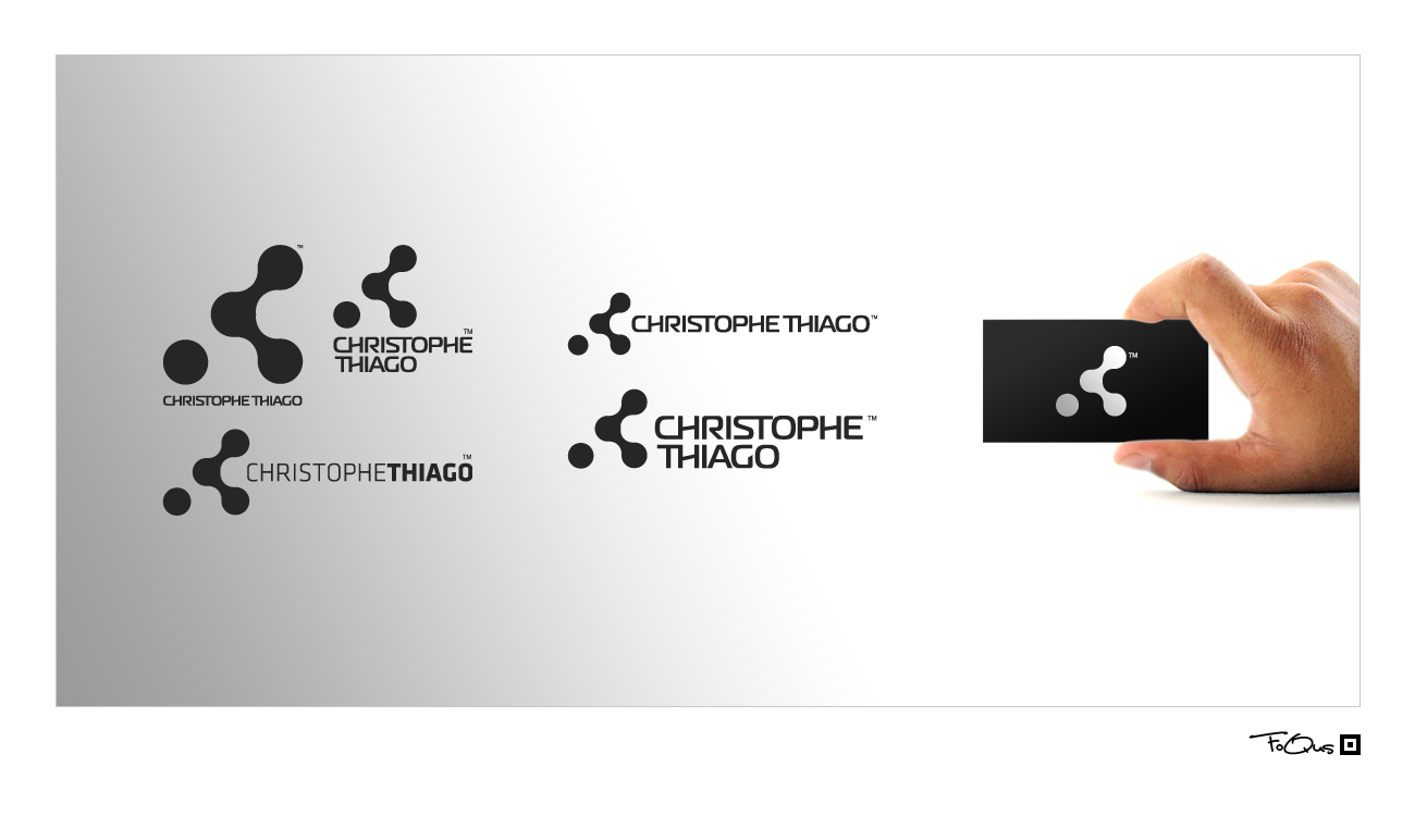 New logo wanted for Christophe Thiago