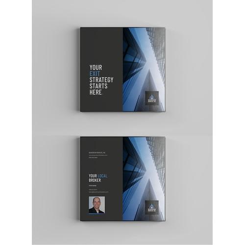 Bold modern brochure
