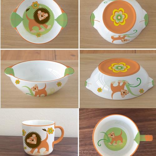 design of child tableware